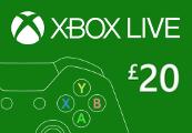 XBOX Live £20 Prepaid Card UK