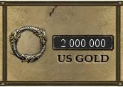 2 000 000 The Elder Scrolls Online Gold PC US