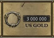 3 000 000 The Elder Scrolls Online Gold PC US