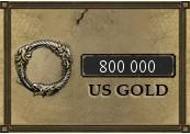 800 000 The Elder Scrolls Online Gold PC US