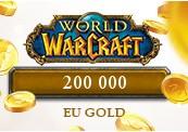 200 000 World of Warcraft EU Gold