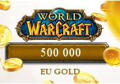 500 000 World of Warcraft EU Gold