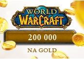 200 000 World of Warcraft NA Gold