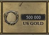 500 000 The Elder Scrolls Online Gold PC US