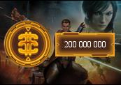 200 000 000 Star Wars: The Old Republic Credits NA