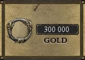 300 000 The Elder Scrolls Online Gold PC EU