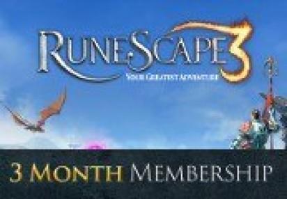 Runescape 90-Day Prepaid Time Game Card