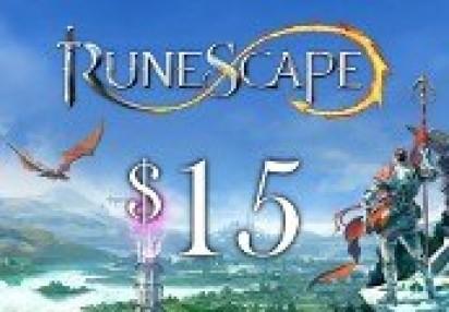 Runescape $15 Prepaid Game Card
