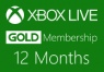 XBOX Live 12-month Gold Subscription Card | g2play.net