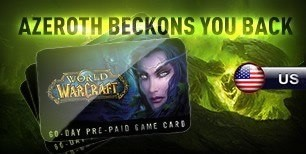 World of Warcraft 60 DAYS Pre-Paid Time Card US | Kinguin