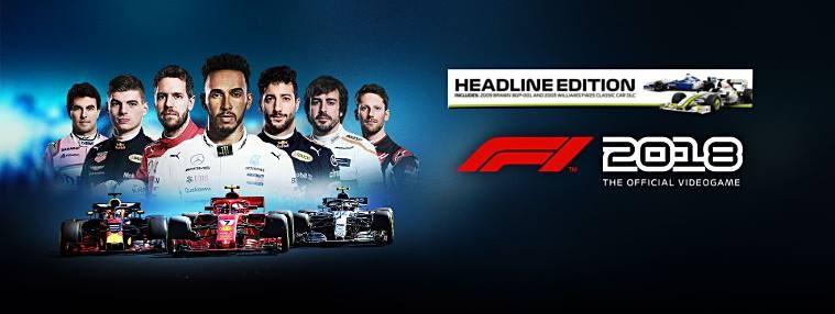 F1 2018 Headline Edition EU Steam CD Key | Kinguin