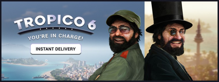 Tropico 6 EU Steam CD Key | Kinguin
