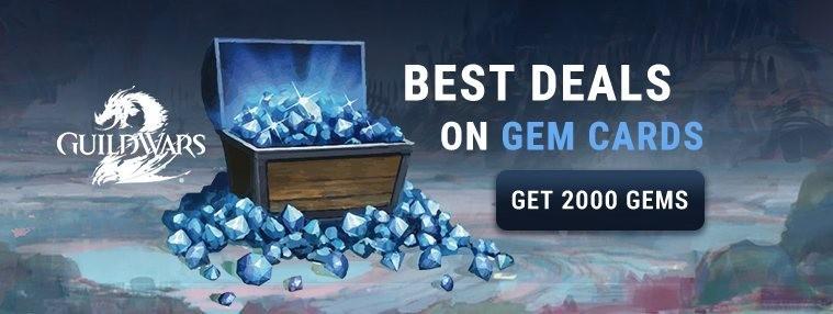 Guild Wars 2 2000 Gems Code | Kinguin