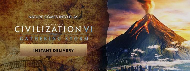 Sid Meier's Civilization VI - Gathering Storm DLC Steam C... | Kinguin