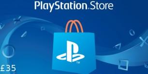 PlayStation Network Card £35 UK   Kinguin