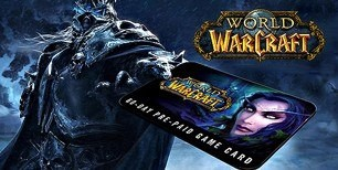 World of Warcraft 60 DAYS Pre-Paid Time Card EU | g2play.net