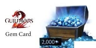Guild Wars 2 EU 2000 Gems Code | g2play.net