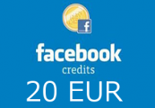 Facebook 20 EUR Gamecard