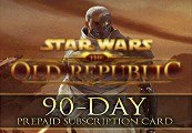 Star Wars The Old Republic SWTOR Gamecard 90 Tage