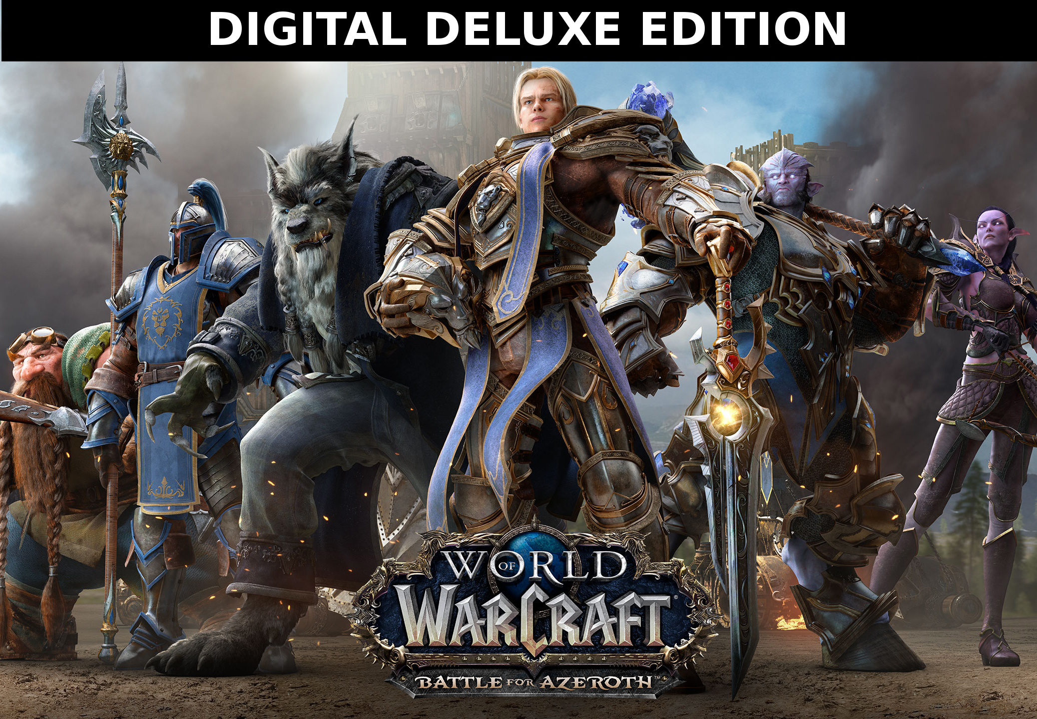 World of Warcraft WoW Battle for Azeroth Deluxe Edition