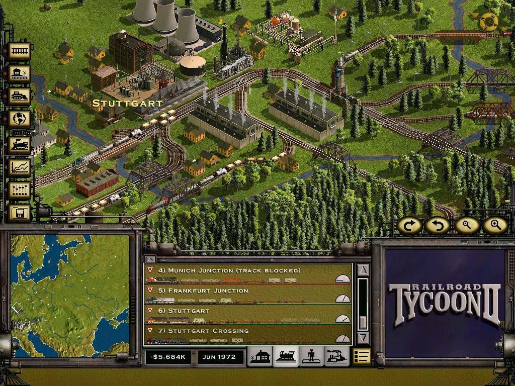 Railroad Tycoon II Platinum Steam CD Key