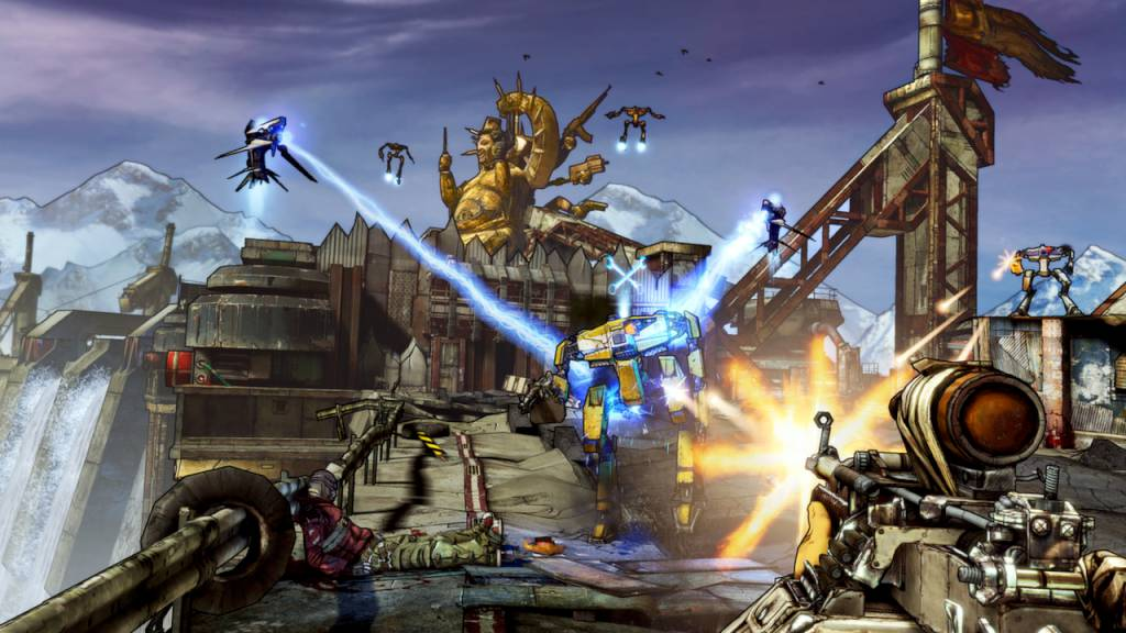 Borderlands 2 Game of the Year Edition Steam Gift