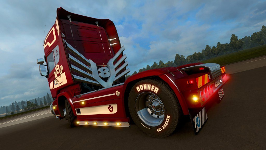 Euro Truck Simulator 2 - Mighty Griffin Tuning Pack DLC Steam CD Key
