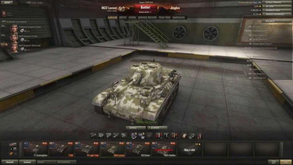 04_227 world of tanks 1000 gold m22 locust tank 7 days premium us,Invite Code Wot