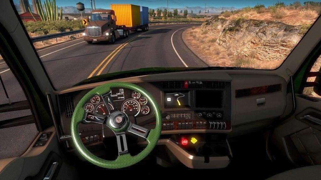 American Truck Simulator - Steering Creations Pack Download Free