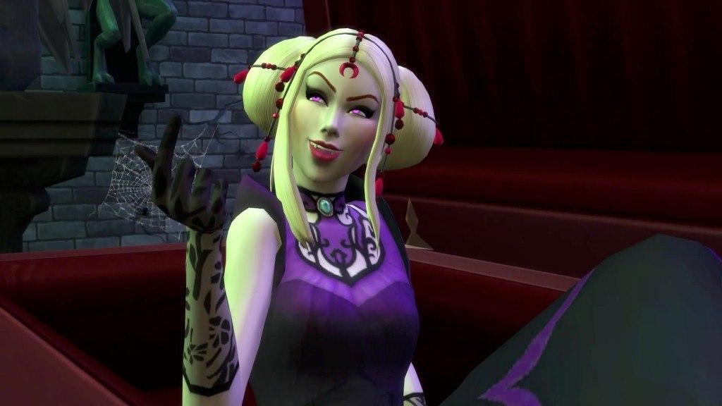 Beautiful Sims 4 Vampire Pack