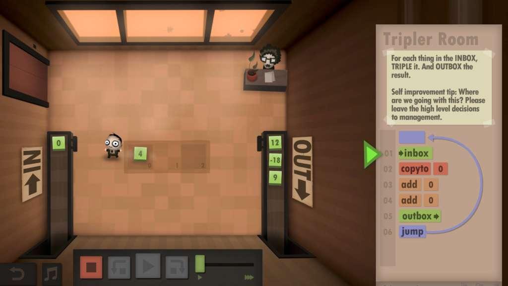steam human resource machine