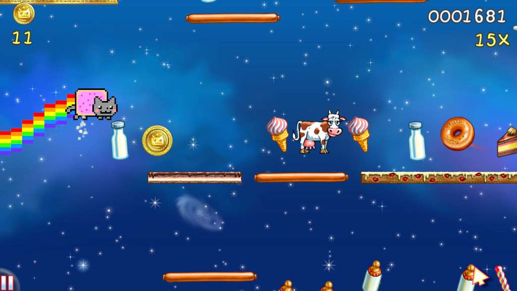 Image result for Nyan Cat: Lost In Space
