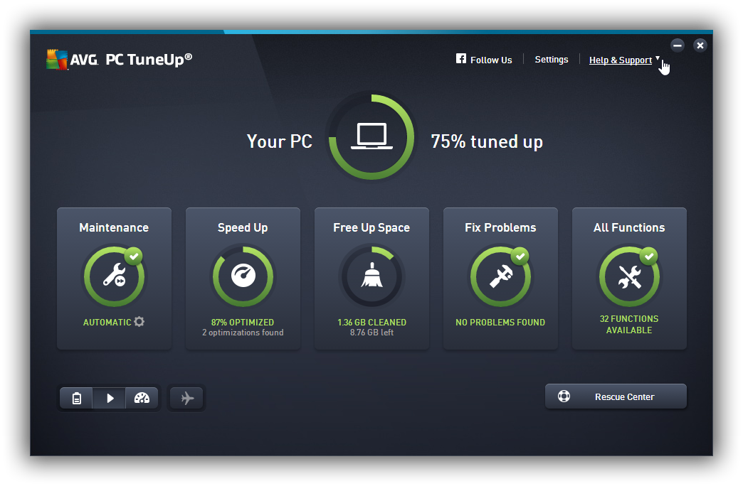 avg pc tuneup 2018 full