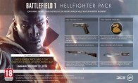 Battlefield 1 - Hellfighter Pack DLC Clé Origin
