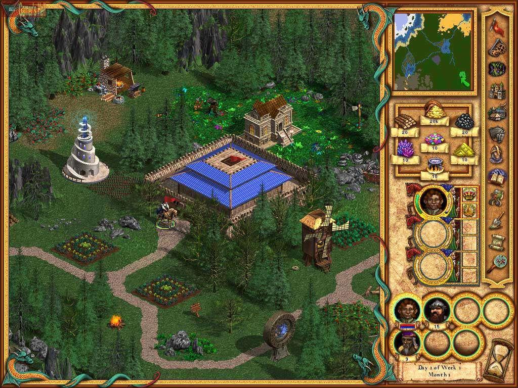 скачать игру Heroes Of Might And Magic 4 через торрент на русском - фото 4