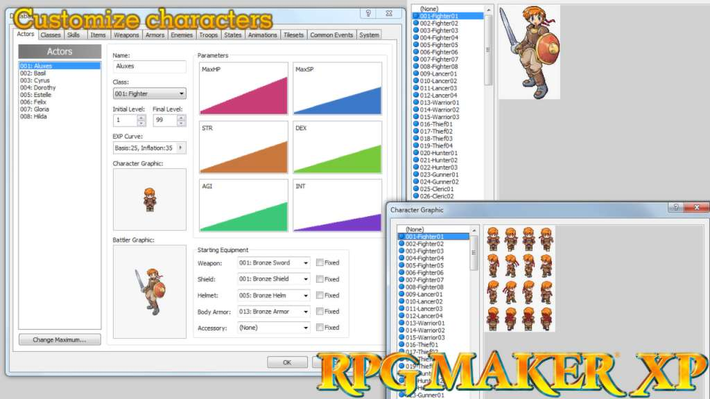 Image result for rpg makers xp