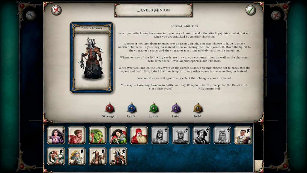 talisman digital edition devils minion character pack