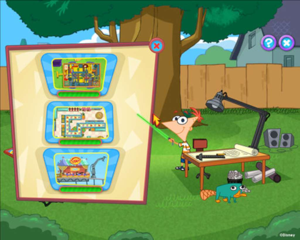 Финес и Ферб игры играть онлайн Phineas amp Ferb