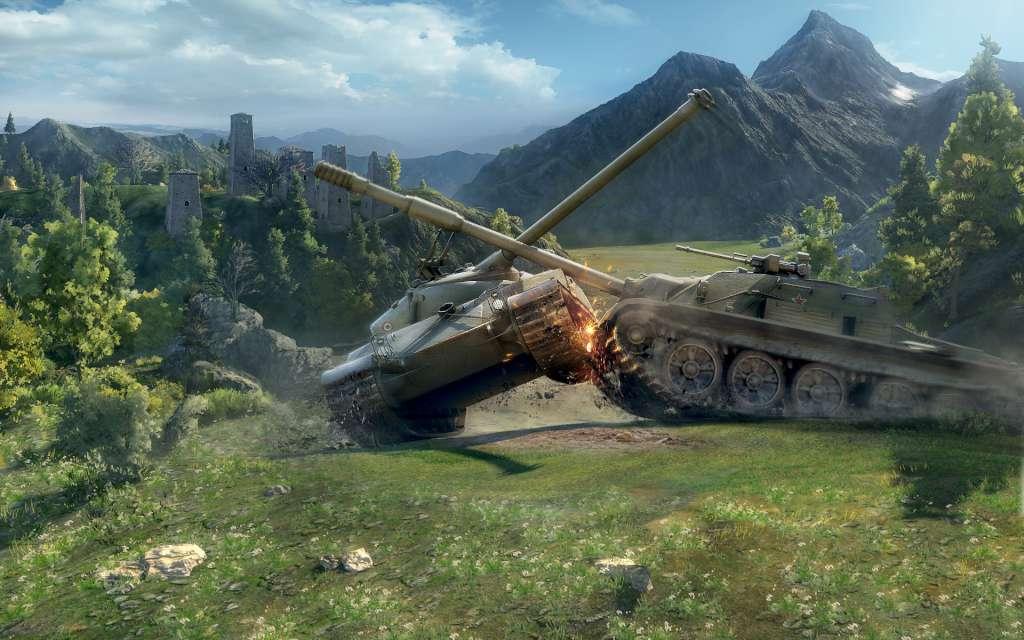 World of Tanks 1000 Gold + 7 Days Premium NA INVITE CODE