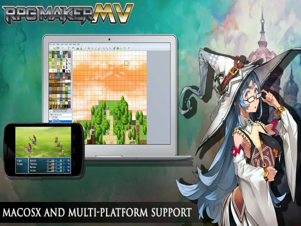 Rpg Maker Mv 1 2 0 Is Coming: RPG Maker MV Starter Pack DLC Steam CD Key