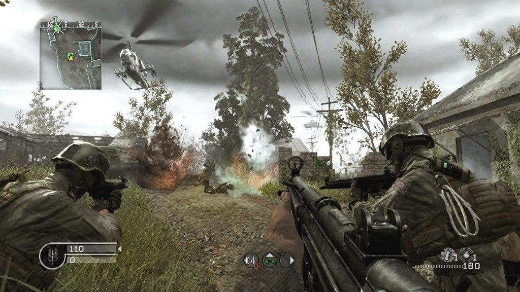 call of duty 4 modern warfare single player cd key
