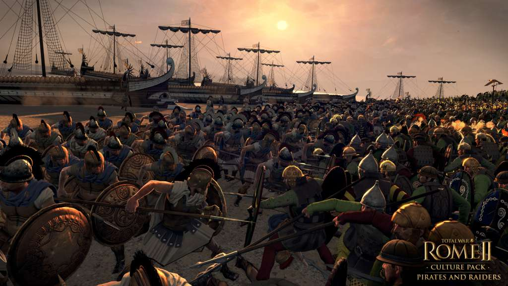 Total War: ROME II - Pirates and Raiders DLC Steam CD Key