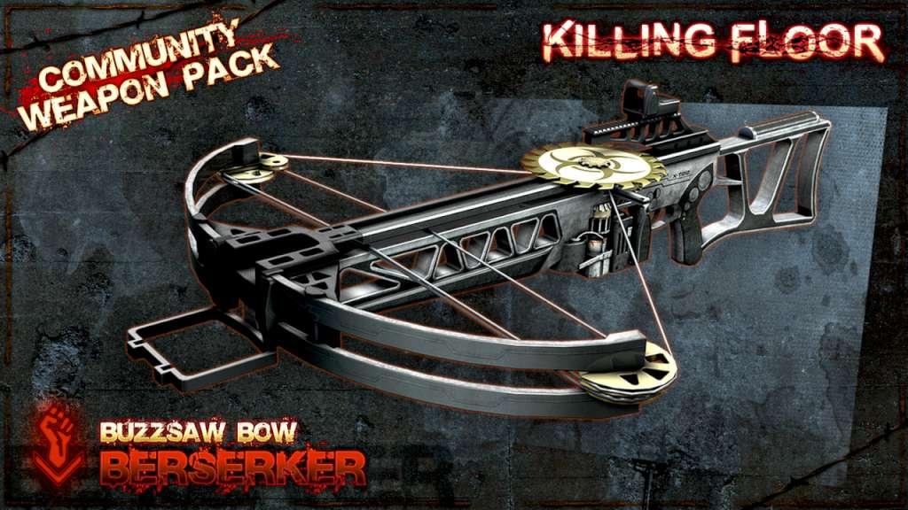 Killing Floor Community Weapon Packs Bundle Dlc Steam Cd