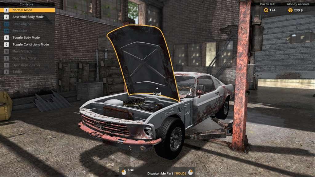 Car Mechanic Simulator 2015 - Car Stripping DLC Steam CD Key
