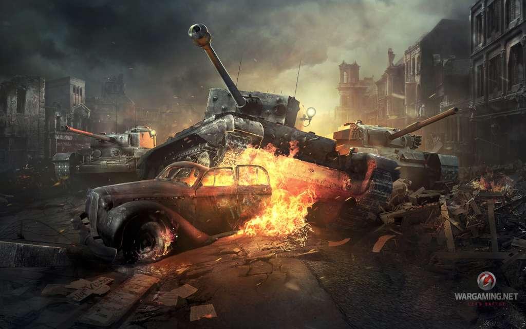 World of Tanks Tetrarch Premium Tank + Garage Slot EU Code