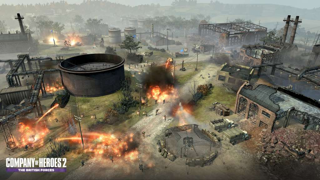 company of heroes 2 the british forces steam gift buy on kinguin. Black Bedroom Furniture Sets. Home Design Ideas