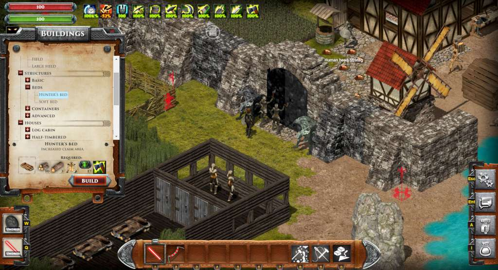 City building games online mmo