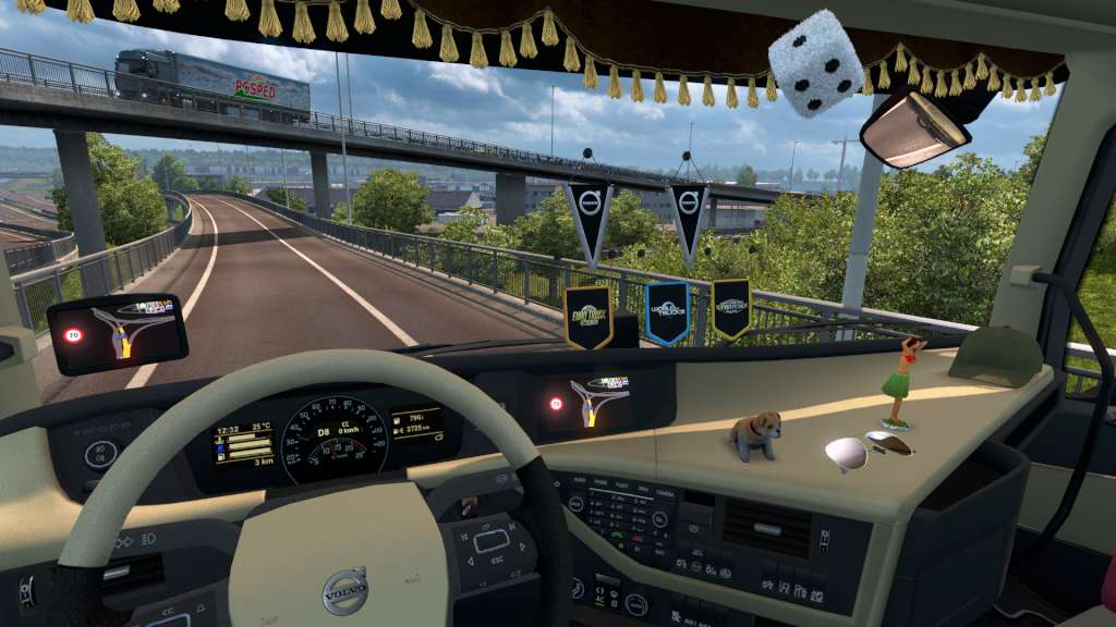 euro truck simulator 2 cabin accessories dlc steam cd key. Black Bedroom Furniture Sets. Home Design Ideas