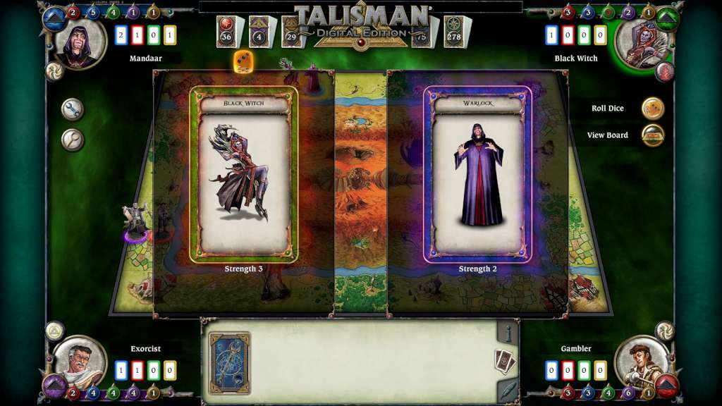 talisman digital edition black witch character pack