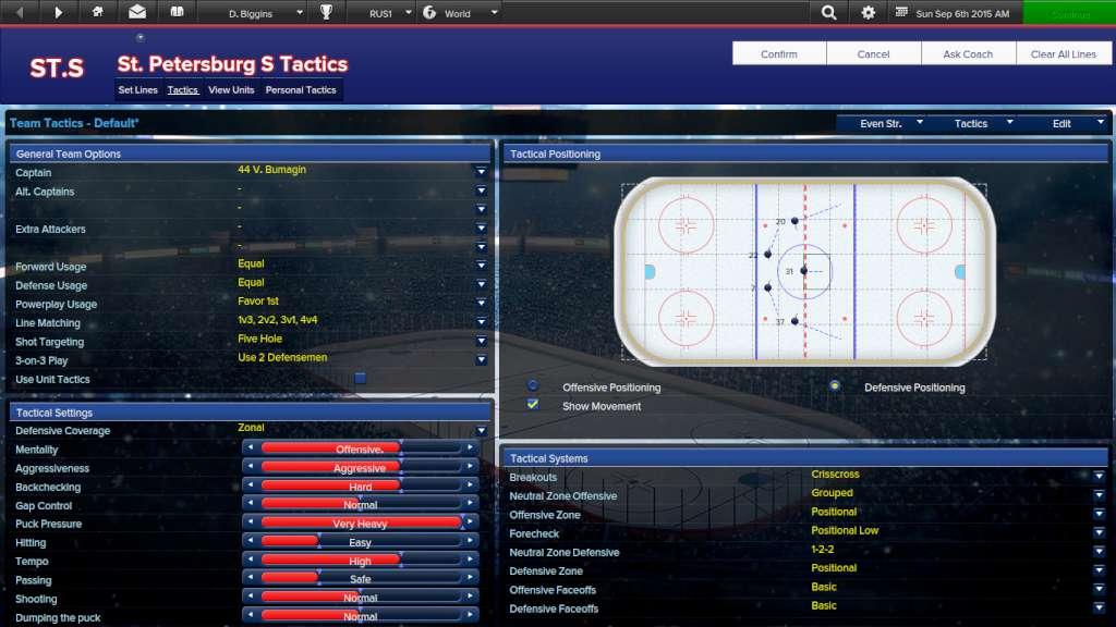 Eastside Hockey Manager Steam CD Key